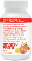 SmartyPants Kids Complete Gummy Multivitamin with Omega 3 and Vitamin D