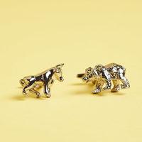 J. Ciro Bear & Bull Cufflinks
