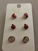 Zen Apple earrings