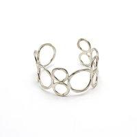 Silver Orbit Cuff