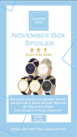 Halcyon Days Agama Sport Watch or Maya Sport Watch