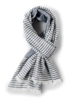 Malabar Striped Scarf - Blue