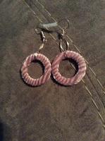 Pierced earfleek earrings