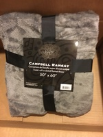 CAMPBELL & RAMSEY FLEECE SUPER SOFT THROW