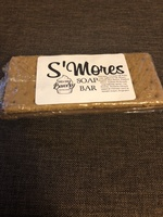 S'mores soap bar