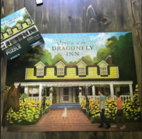 Exclusive Collectible Dragonfly Inn Puzzle