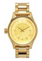 Nixon facet watch gold