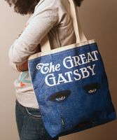Out of Print Great Gatsby Canvas Tote