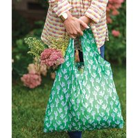 Cactus 'Blu Bag' Reusable Shopping Bag