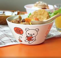 Rilakkuma Bear Bamboo Noodle Bowl by San-X Doki