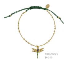 Les Nereides Dragonfly Bracelet