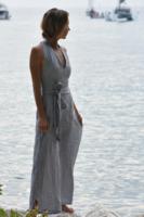 Camille Striped Linen Resort Wear