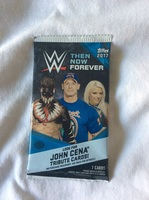 Topps Trading Cards WWE Then Now Forever