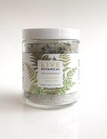 Live Botanical NW Rainforest Grey Salt Bath