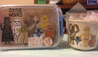 Star Wars Bento Box & Matching Cup Kawaii Japan