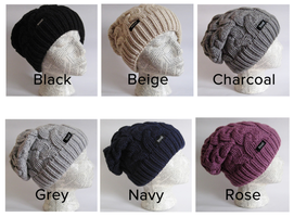 Frost slouchy beanie