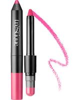 Trestique Matte Colo Shiny Lip Balm Crayon in Barcelona Bright Berry
