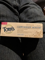 Tom's Luminous White Toothpaste