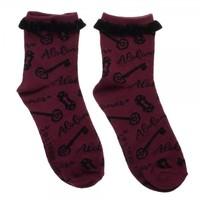 Alohomora Harry Potter Socks