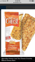 Just The Cheese crunchy toasted cheese bar