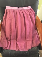 Mauve skirt - large