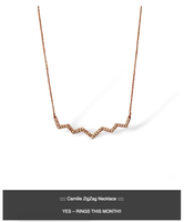 Camille Zigzag Necklace