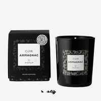 POP UP ARMAGNAC LEATHER CANDLE