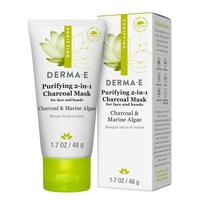 Derma . E purifying 2-in1 charcoal mask