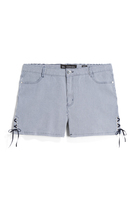 CITY CHIC TINA SHORTS WITH LACE UP SIDES 18