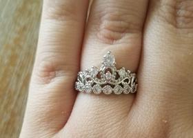 Queen of diamonds ring
