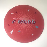 F Word Mouse Pad