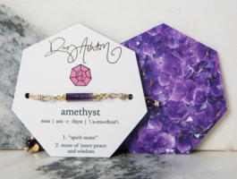 Amethyst Bracelet by Rory and Ashton