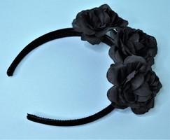 Frida Kahlo Black Rose Headband