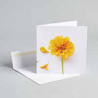 I'd Pick You Flower Card