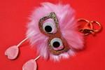 Furry Monster Keychain/Bag Charm