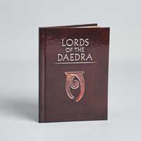 Skyrim Lords of the Daedra Book