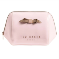 Ted Baker London Large Trapeze Bow Wash/Makeup Bag