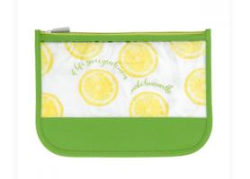 MIAMICA JetSet & Go Travel Pouch - Lemons