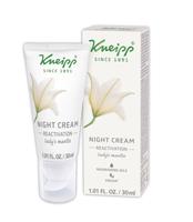Kneipp night cream