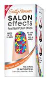 Sally Hansen Salon Effects nail polish strips in 'Collide-O-Scope'