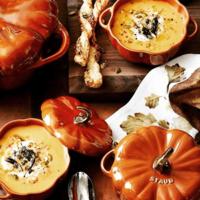 Staub Stoneware Pumpkin Cocoette