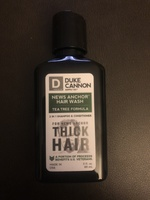 Duke Cannon NEWS ANCHOR 2-IN-1 HAIR WASH - TEA TREE FORMULA