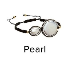 Kevia Vie Boheme White Pearl Bracelet