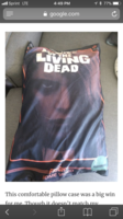 Night of the Living Dead VHS Pillow Case