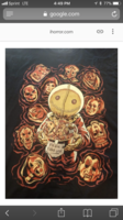 Trick r' Treat Halloween Horror T Shirt art by Chris Wahl