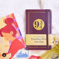 J.K. Rowling's Wizarding World: Travel Journal: Ruled Pocket Notebook