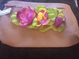 Flowered clutch