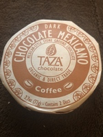 Dark Mexican coffee chocolate