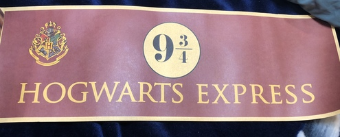 Harry Potter Platform 9 3/4 Poster