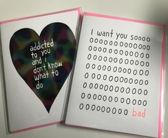 Set of 2 Letterpress Cards from Ashkahn